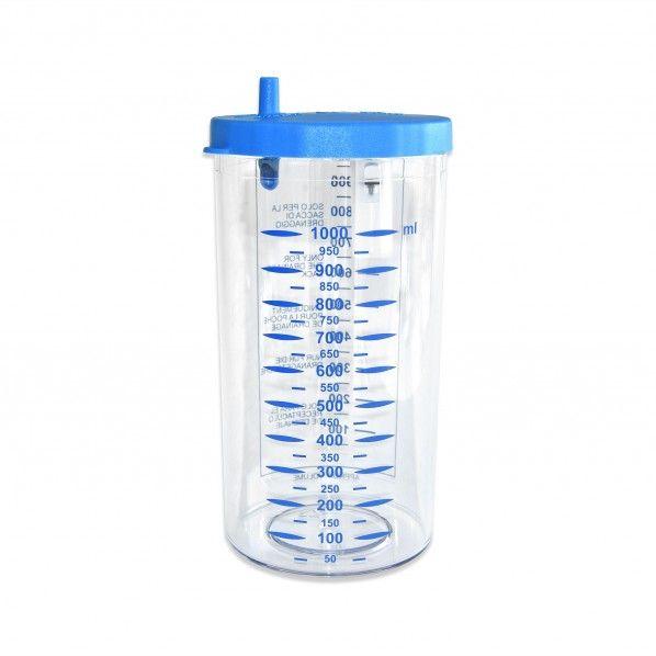 Jarro para Aspirador de Secreções - 1 litro