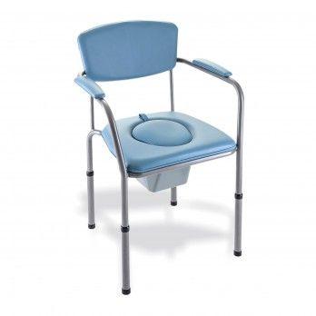 Cadeira Sanitária Altura Regulável Omegat