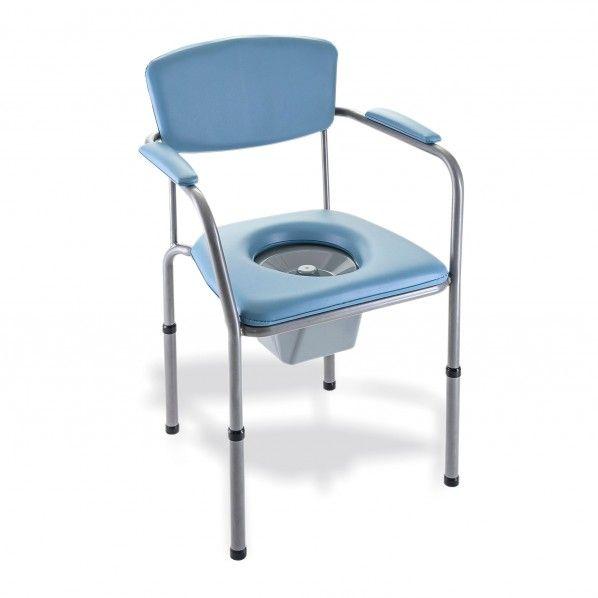 Cadeira Sanitária Altura Regulável Omega