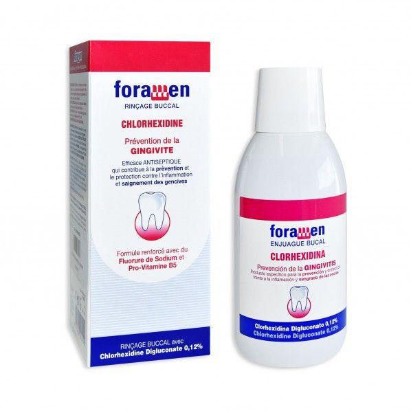 Colutório com Clorohexidina 250 ml - Foramen