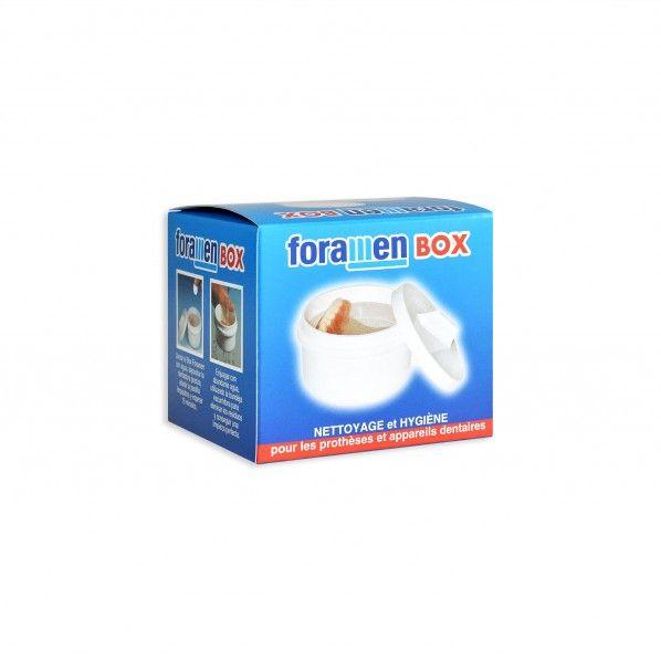 Caixa para Limpeza de Próteses Dentárias - Foramen