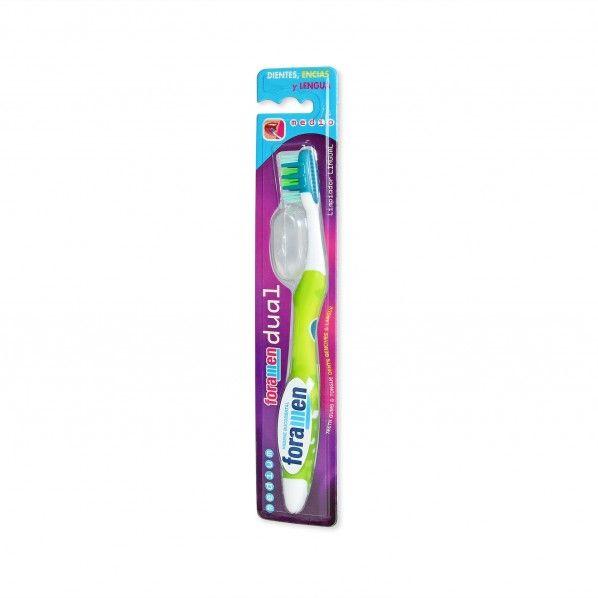 Escova Dentes Dual Média - Foramen
