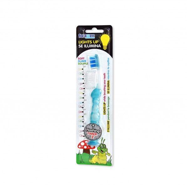 Escova de Dentes Suave com Luz - Foramen Junior