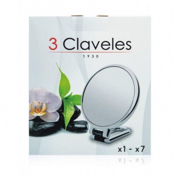 Espelho de Ampliação 15 cm - 3 Claveles