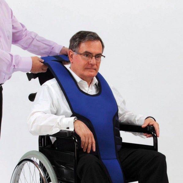 Colete Imobilizador Pélvico para Cadeiras de Rodas Salvaclip Comfort