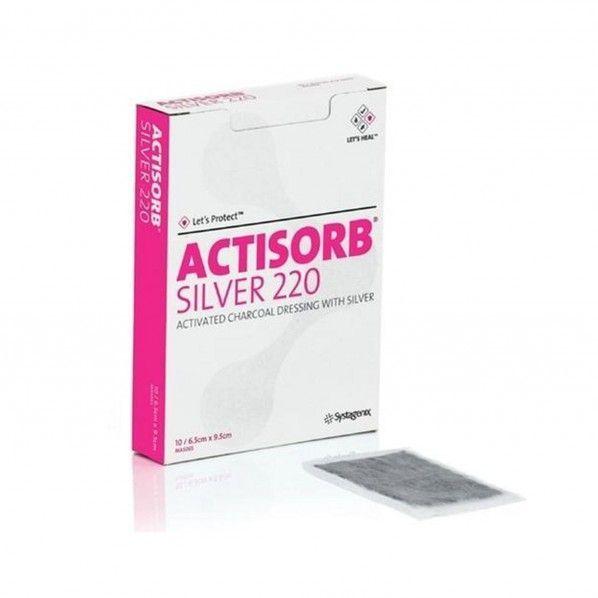Actisorb Silver 220 - 10 unidades