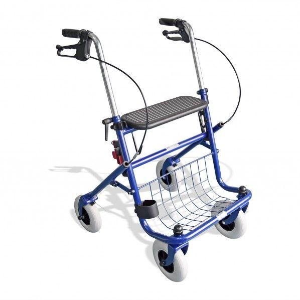 Andarilho com 4 Rodas e Assento