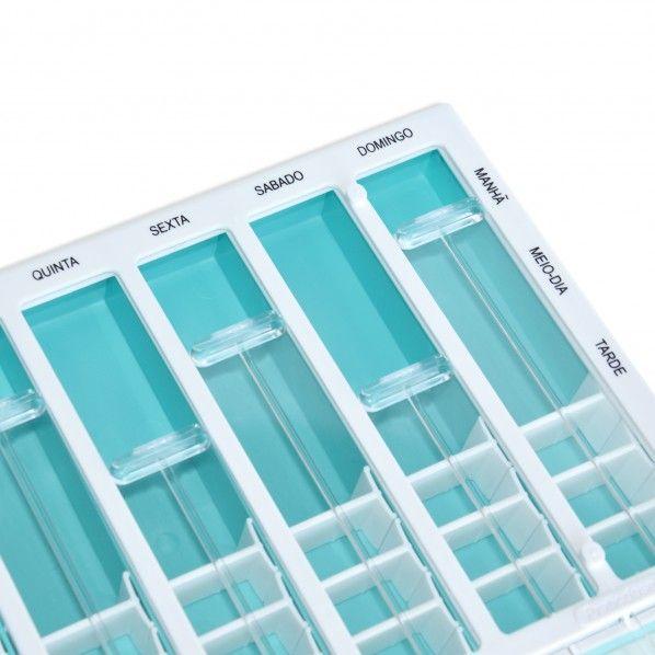 Caixa Medicamentos Semanal Praticdose Hebdo Max