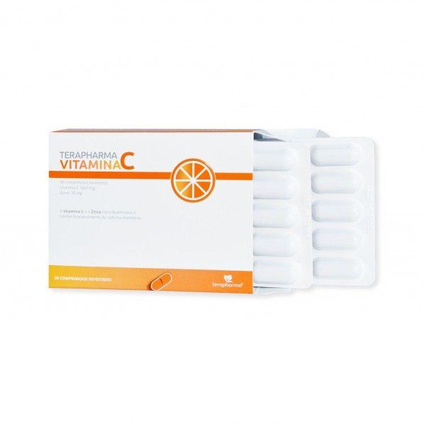 Terapharma Vitamina C - Comprimidos Revestidos