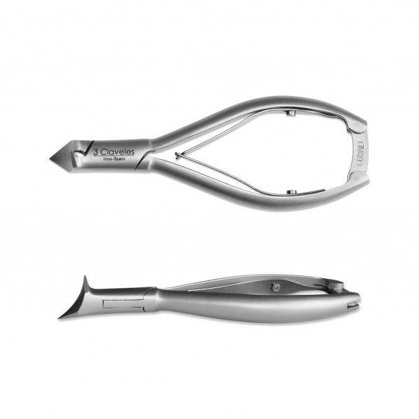 Alicate para Unhas em Inox 14 cm - 3 Claveles