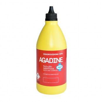 Agadine povidone-iodine 7.5% Foam Solutiont