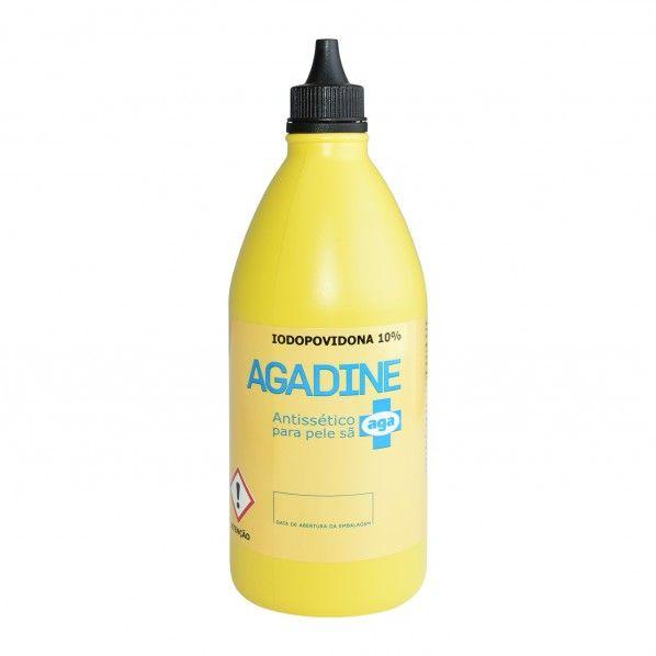 Agadine Iodopovidona 10% Solução Dérmica