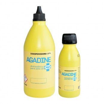Agadine Iodopovidona 10% Solução Dérmicat