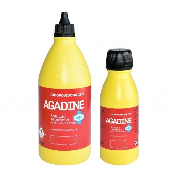 Agadine povidone-iodine 7.5% Foam Solution