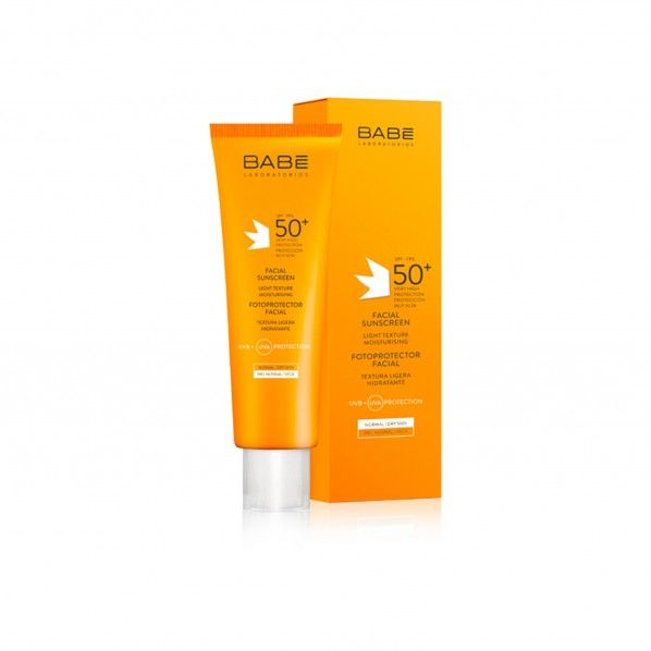 Babe Solar Photoprotector Facial SPF50 + 50 ml