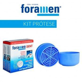 Kit para Limpeza de Prótesest