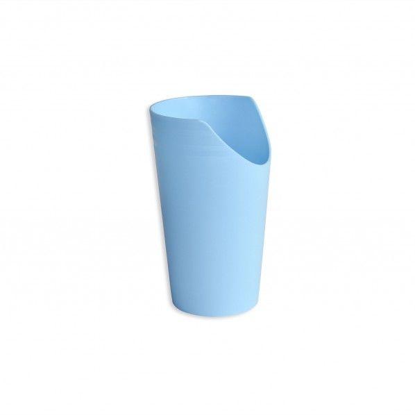 Copo Bebedouro Recortado Azul