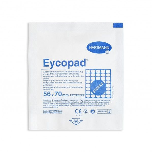 Eycopad Pensos Oculares 56 x 70 mm - 25 unidades