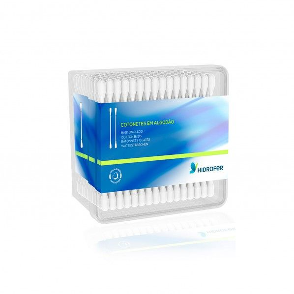 Cotonetes Embalagem com 12 Cx.100 Unid.