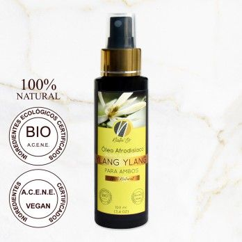 Aphrodisiac Massage Oil with Ylang Ylang Natu'Or Aromat
