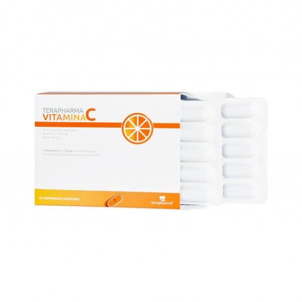 Terapharma Vitamina C + Zinco - Comprimidos