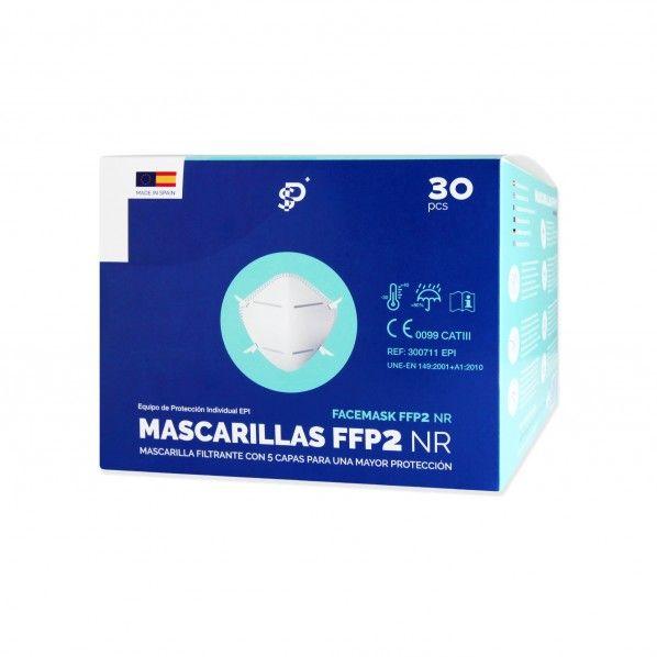 Máscaras FFP2 NR 5 Camadas - 30 unidades