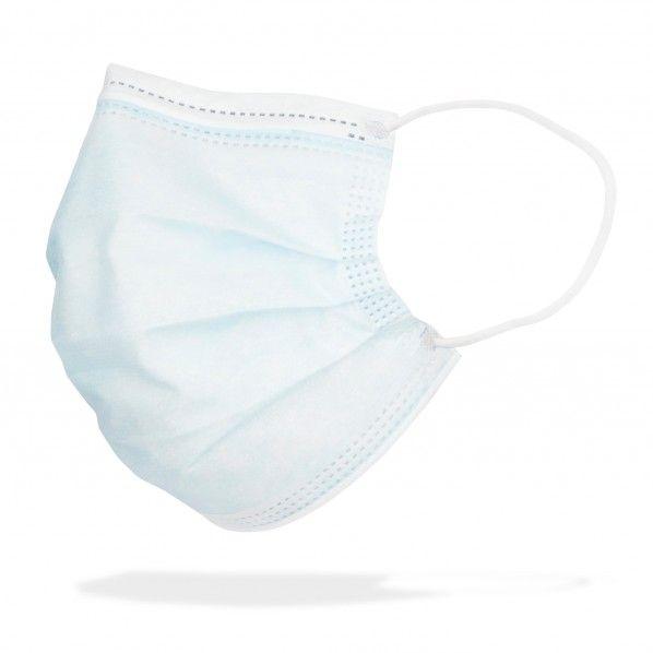 Máscaras de Proteção Cirúrgicas AmberMed - 50 unidades