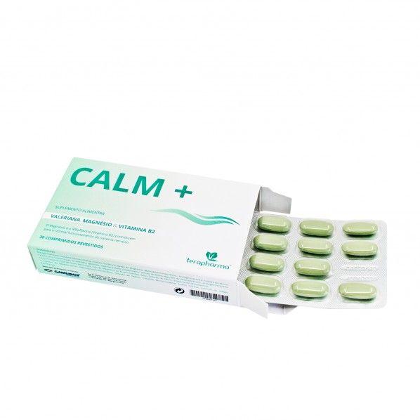 Calm+ Terapharma - 30 comprimidos revestidos