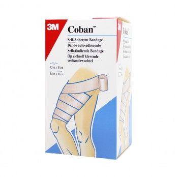 Ligadura Autoaderente Coban 6,5 m x 10 cm - 1 unidadet