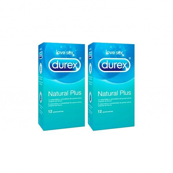 Durex Natural Plus Condoms - 12 units