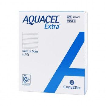 Aquacel Extra 10x10cm - 10 unidadest