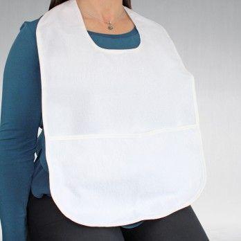 Babete para Adulto Impermeável com Bolsa - 60 x 40 cmt