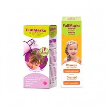 Fullmarks Pack Spray 150 ml + Champô Pós-Tratamento 150 mlt