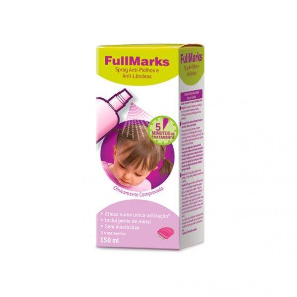Fullmarks Spray Anti-pioljos e Anti-Lêndeas 150ml