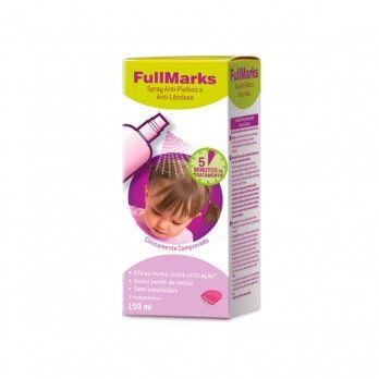 Fullmarks Spray Anti-Piolhos e Anti-Lêndeas - 150 mlt