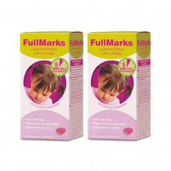 Fullmarks Loção Anti-piolhos e Anti-Lêndeas - 2 x 100 mlt