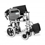 OPM Transit Wheelchair with Solid Wheels - 43 cm