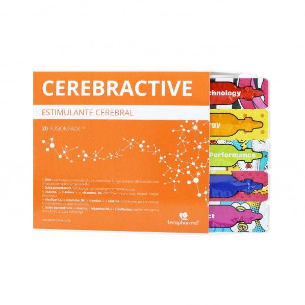 Terapharma Cerebractive Fusionpack - 20 doses